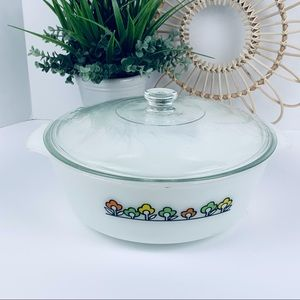 Vintage | Fireking Summerfield Casserole Dish